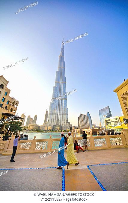 Burj Khalifa and Dubai Mall, Dubai, United Arab Emirates