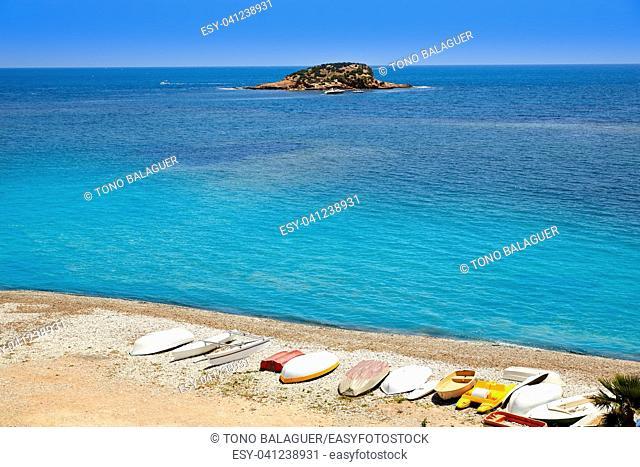 Altea beach in Alicante Playa de L Olla beach