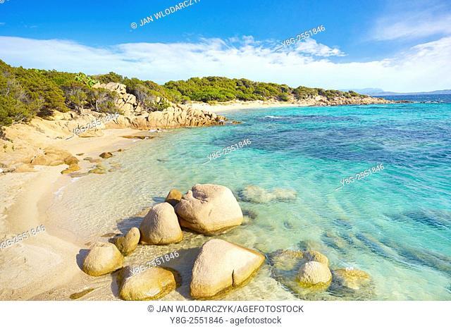 Punta dei Capriccioli Beach, Costa Smeralda, Sardinia Island, Italy