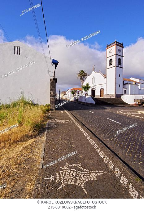 Main Church, Vila do Porto, Santa Maria Island, Azores, Portugal