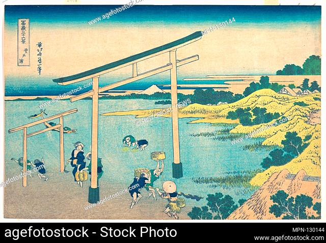 Artist: Katsushika Hokusai (Japanese, Tokyo (Edo) 1760-1849 Tokyo (Edo)); Period: Edo period (1615-1868); Date: ca. 1830-32; Culture: Japan; Medium: Polychrome...