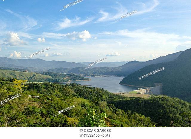 Reservoir Porce 2, Amalfi, Antioquia, Colombia