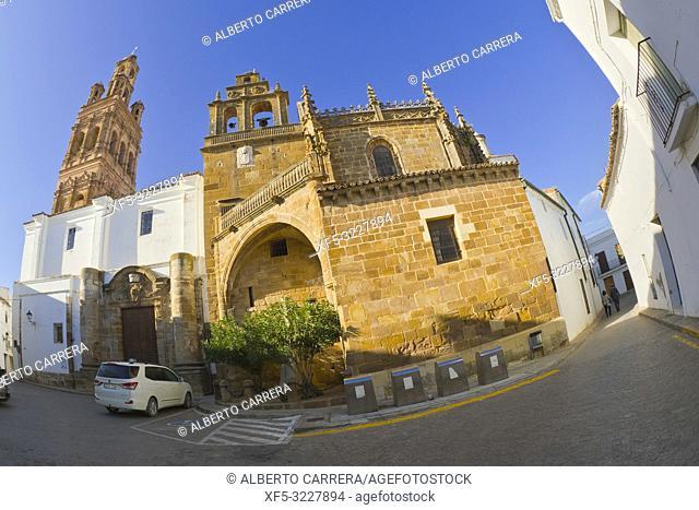 Church of Nuestra Señora de la Granada, Plaza Mayor, Historical Center, Historic Artistic Ensemble, Llerena, Badajoz, Extremadura, Spain, Europe
