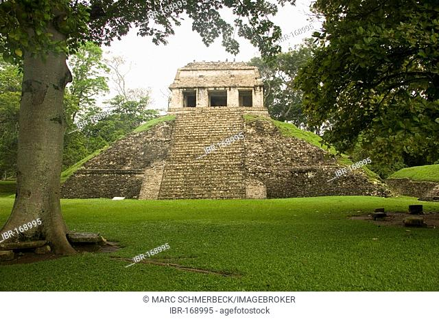 México, Palenque, Templo del Norte, Palenque, Chiapas, Mexico