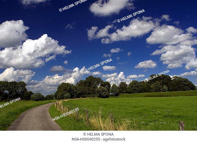 meadows in Kellen near Cleves
