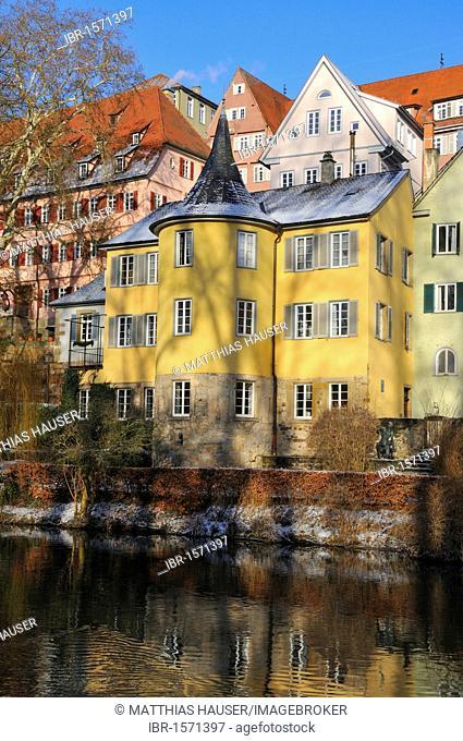 Hoelderlin Tower, Tuebingen, Baden-Wuerttemberg, Germany, Europe