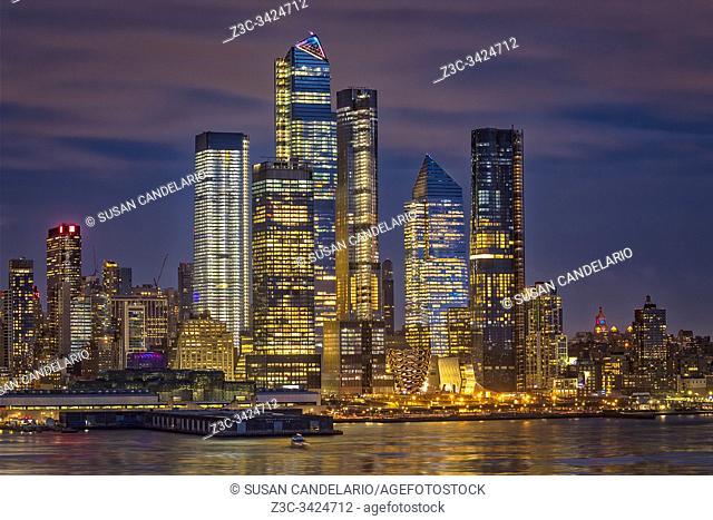 Hudson Yards NYC Skyline