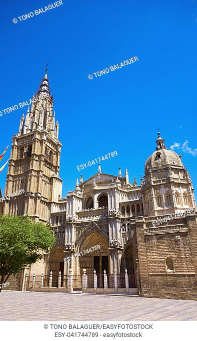 Toledo Cathedral in Castile La Mancha of Spain