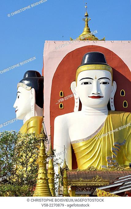 Myanmar, Bago (Pegu), Kyaikpun pagoda