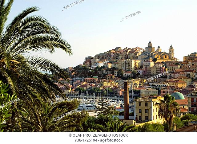 Old Town of Imperia at the Ligurian Coast, North West Italy