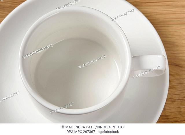Empty tea cup, India, Asia