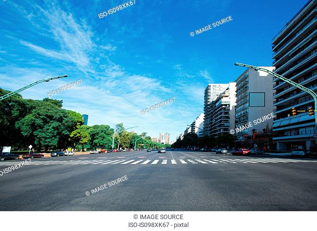 Avenue of the liberator, Buenos Aires, Argentina