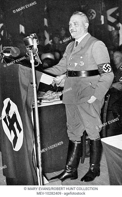 Hanns Kerrl, German NSDAP politician in 1933