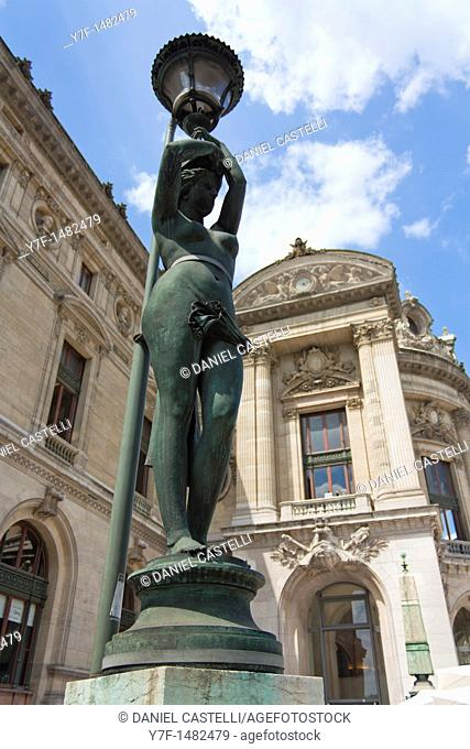 sculpture, Opera, Paris, France