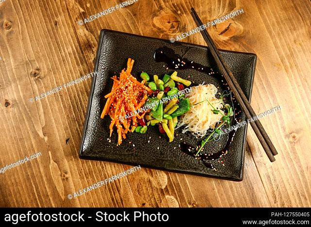 Dishes of Asian spicy salads | usage worldwide. - STOCKHOLM/Sweden