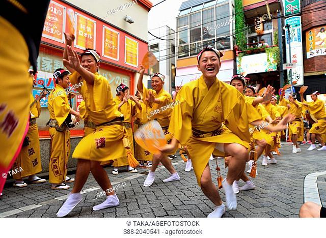 Awaodori dance festival in Tokyo