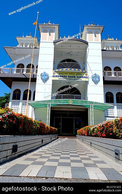 Sarawak Sikh Temple, Kuching, Sarawak, Malaysia