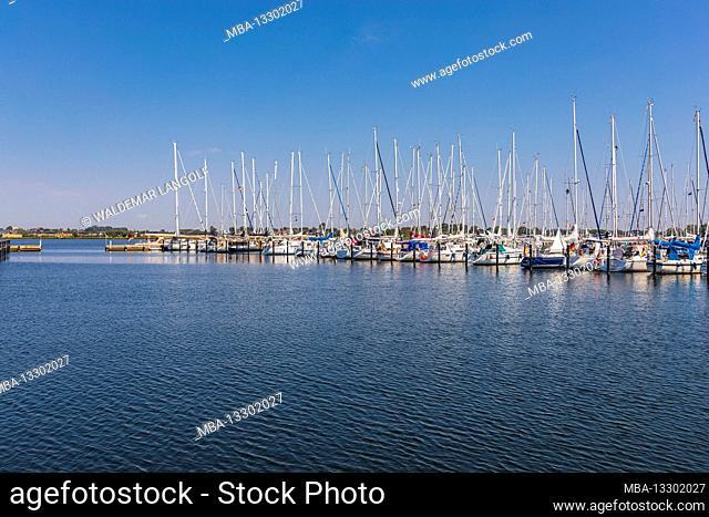 Sailboats on Fehmarn