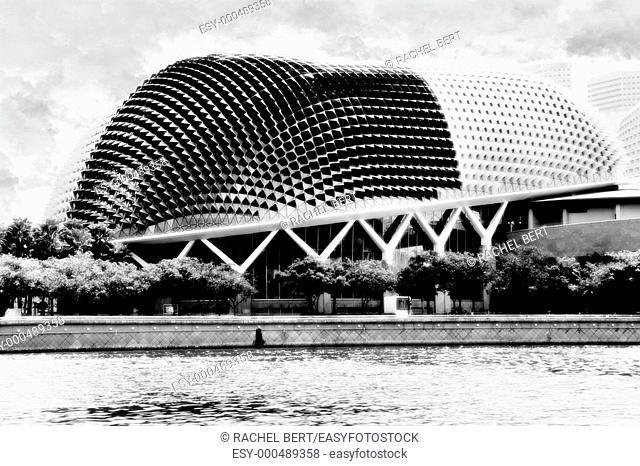 The Esplanade - Theatres on the Bay, DP Architects, Marina Bay, Singapore, Asia