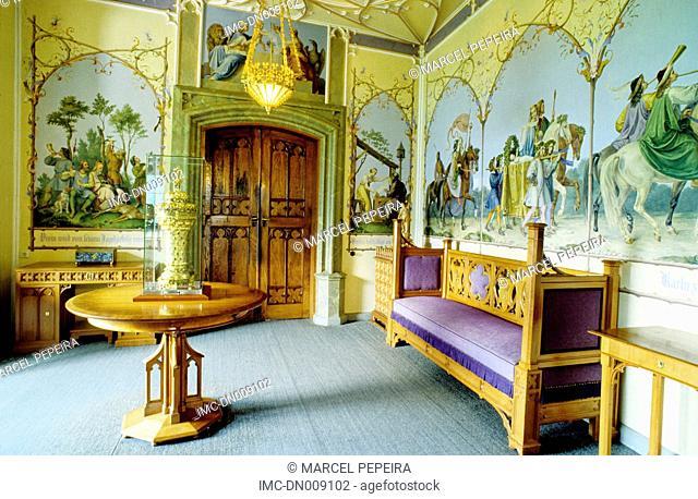 Germany, Bavaria, Schwangau, Hohenschwangau castle