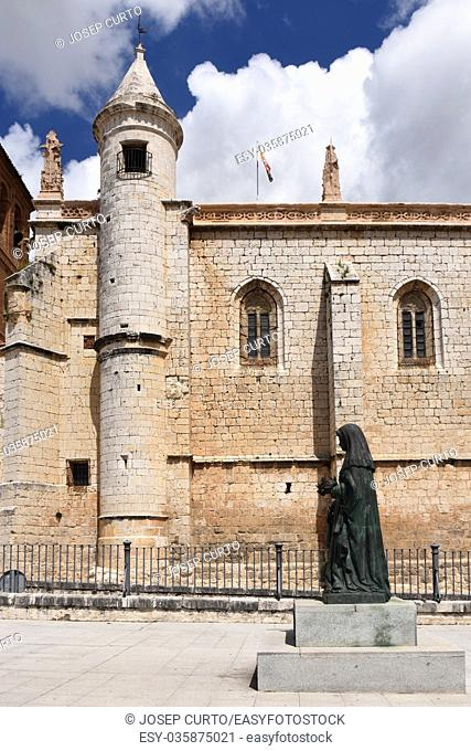 San Antolin church in Tordesillas, Valladolid province, Castilla y Leon, Spain