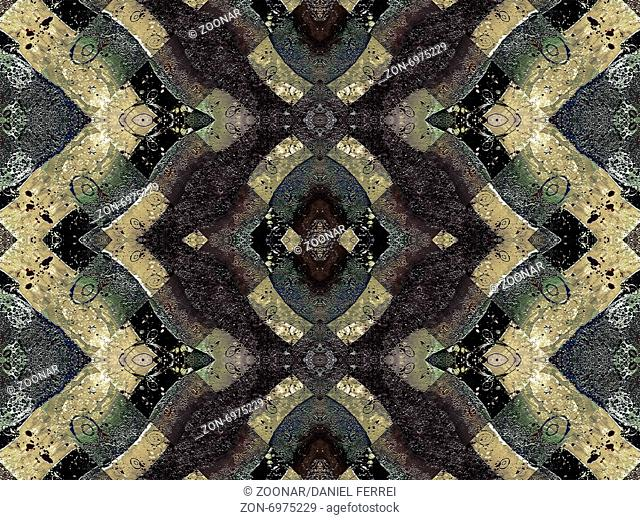 Geometric Pattern Grunge