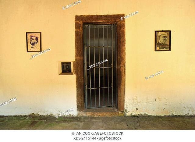 cell door in Fort Kochi jail, Fort Cochin, Fort Kochi, Kerala, India