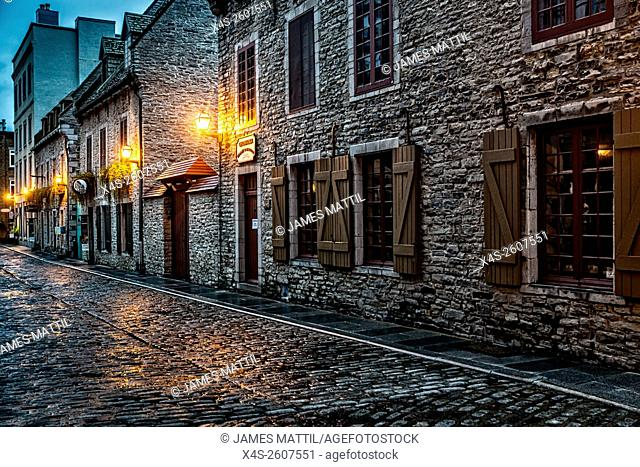 Night Brings a romantic character to the old stone buildings of historic Quebec City. Founded in 1608, Quebec remains a walled fortress and a UNESCO World...