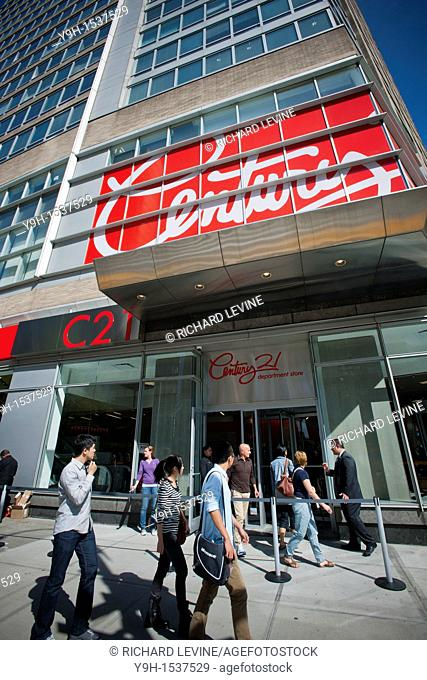 a1a7d00aa0 The Century 21 department store opens on the Upper West Side of New York on  Friday