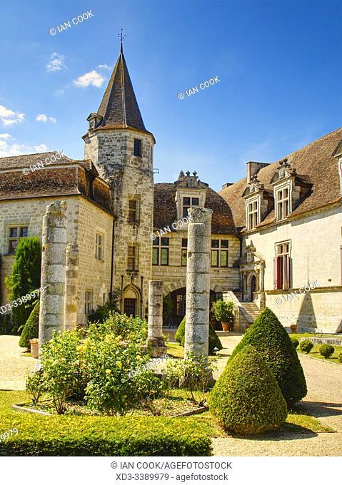 Chateau Ducal, Lauzun, Lot-et-Garonne Department, Nouvelle Aquitaine, France