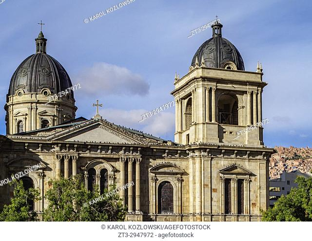 Cathedral Basilica of Our Lady of Peace, Plaza Murillo, La Paz, Bolivia