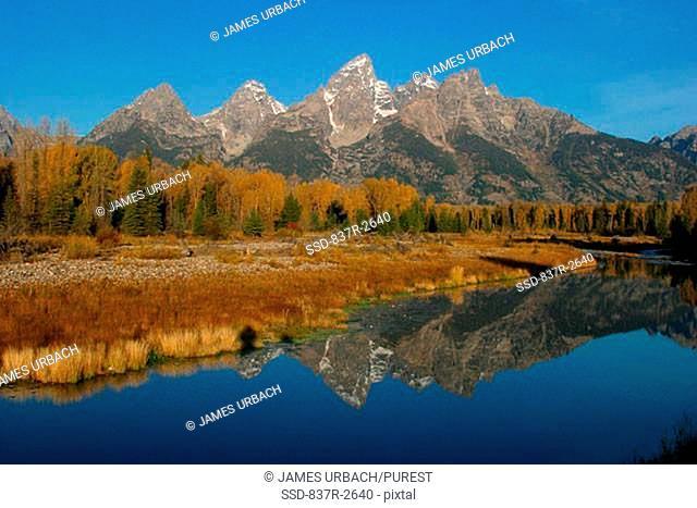 Lake in Grand Teton National Park, Wyoming, USA