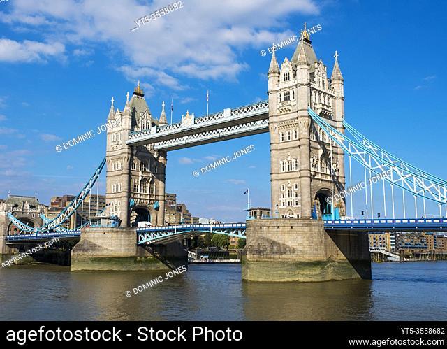 Tower Bridge crossing the Thames, London