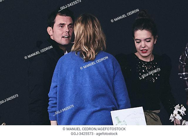 Sergio Alvarez Moya, Marta Ortega attends Madrid Horse Week - Day 1 at IFEMA on November 29, 2019 in Madrid, Spain