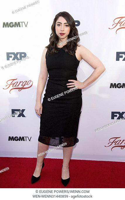 Olivia Sandoval attending the For Your Consideration Event for 'Fargo' at the Saban Media Center in Los Angeles, California