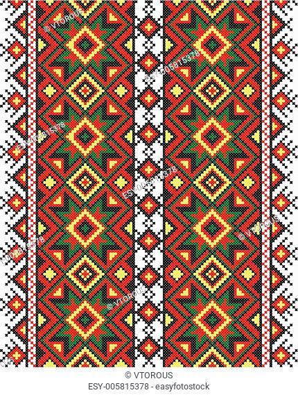 Ukrainian national ornament