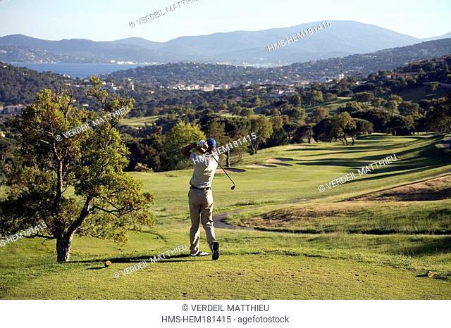 France, Var, Sainte Maxime Golf Course