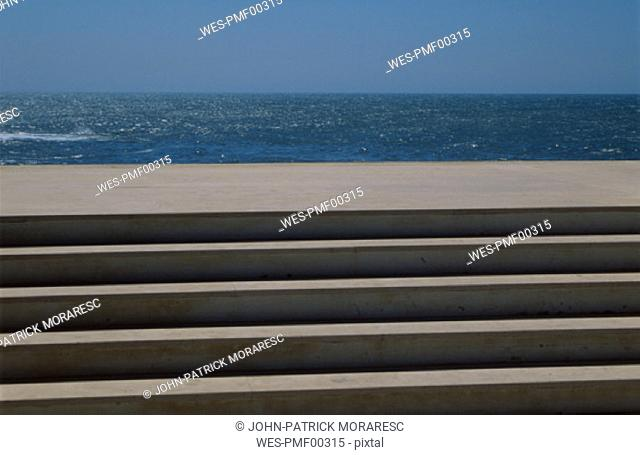 Steps at the sea, Portugal