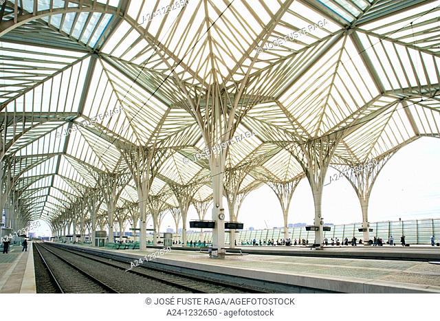Portugal summer 2010,Lisboa City,Orient Station, Built by Calatrava