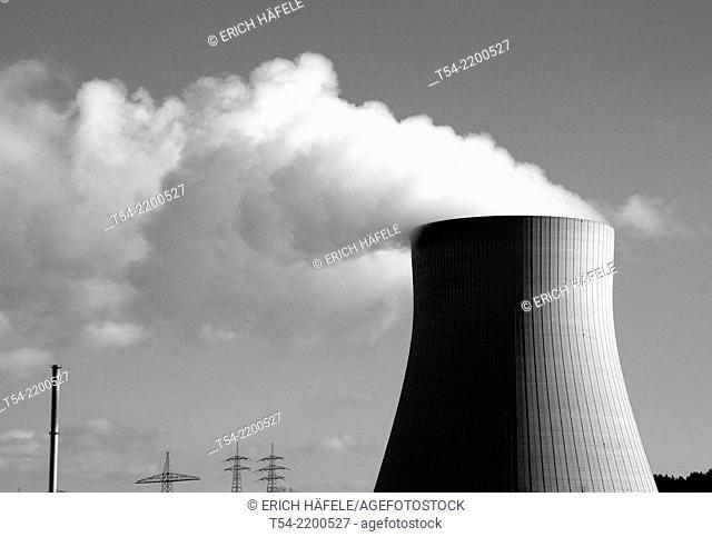 Nuclear power plant Isar 1 Landshut / Bavaria