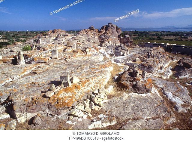 Italy, Sardinia, Island of Sant Antioco, Tophet ruins