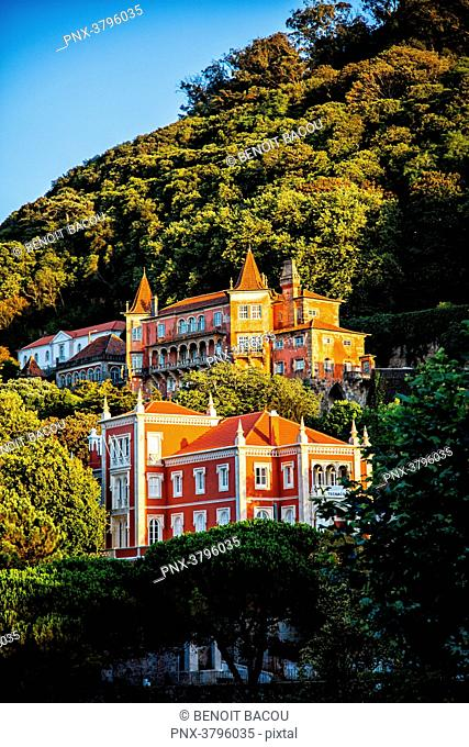 Museum-Palace Palacio Valencay, city of Sintra, Lisbon area, Portugal