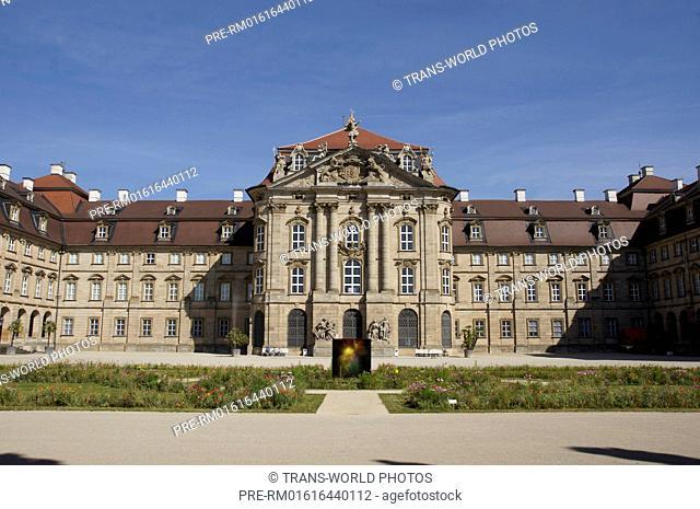 Schloss Weissenstein, Pommersfelden, Bamberg district, Upper Franconia, Bavaria, Germany / Schloss Weißenstein, Pommersfelden, Landkreis Bamberg, Oberfranken