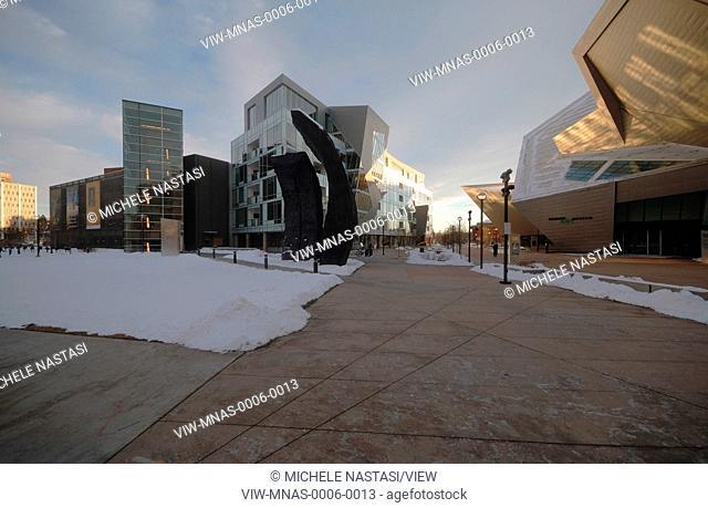 Extension to the Denver Art Museum, Frederic C. Hamilton Building, Denver, United States. Architect: Daniel Libeskind, 2006