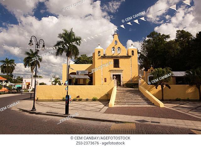 Iglesia de La Ermita de Santa isabel Church, Merida, Yucatan Province, Mexico, Central America