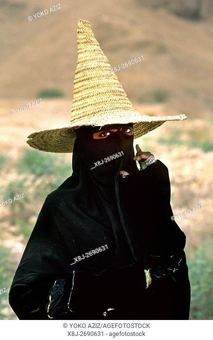 yemen, wadi doan, portrait