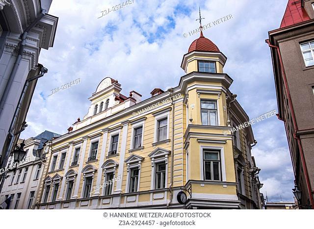Traditional houses in Tallinn, Estonia, Europe