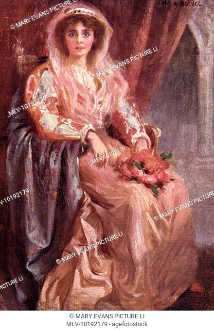 Miss Muriel Beaumont as Nerissa