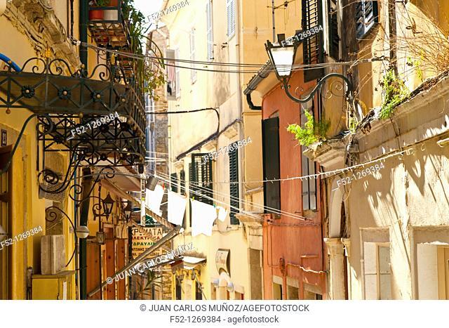 Town of Corfu, Corfu, Ionian Islands, Greece, Mediterranean Sea
