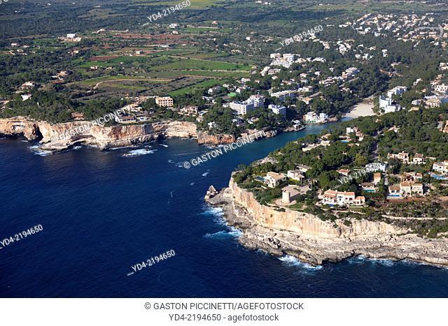 Cala Santanyi, Santanyi, Mallorca, Balearic Island,Spain